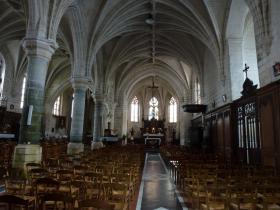Lambres eglise  interieur