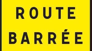 Route barre e